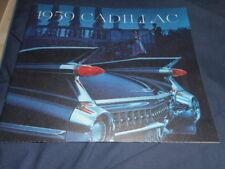 1959 Cadillac Fleetwood Eldorado De Ville Series 62 75 Catalog Brochure Prospekt