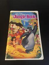 RARE Walt Disney Classic The Jungle Book Black Diamond VHS 1991 Spring Lead