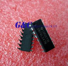 10PCS SN74LS47N IC BCD-7 SEG DECODER/DRVR 16-DIP NEW GOOD QUALITY D4