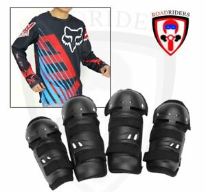 Motorcycle Dry Fit Jersey Longsleeve With Gear Set - (BLACK/BLUE) XL