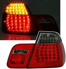 BMW E46 4dr saloon 1998 - 2001 L.E.D. LED red smoked tail rear lamps lights
