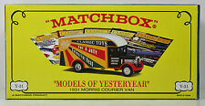 Matchbox Collectibles - YPP02-SA - 1931 MORRIS COURIER VAN - CLASSIC TOYS MAGAZ