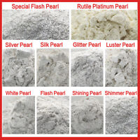 10g Platinum Pearl Cosmetic Natural Mica for Soap/Bath Bombs/Eyeshadow/Lipsticks
