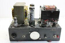 DIY Tube Amplifier with 2x EL34