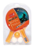 2 Player Table Tennis Set 2 Bats 3 Balls Outdoor Indoor Kids Adult Game Toy Game