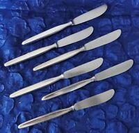 Auerhahn - Rose - 6 Vorspeisemesser / Messer - Silber-90 - 19,5 cm