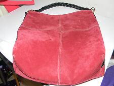 Large Shoulder Bag - Red - EUC