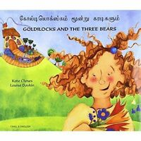 Goldilocks and the Three Bears in Tamil and English by Clynes, Kate, NEW Book, F