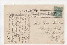 London E Crown R Machine Cancel 31 Oct 1904 400b