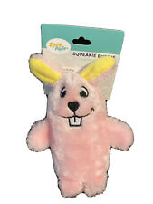 ZippyPaws - Squeakie Buddie Pink Bunny Plush Small Dog Toy