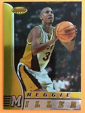 1996-97 Bowman's Best Reggie Miller Indiana Pacers  #45 HOF
