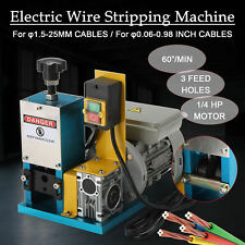 Electric Wire Stripping Machine Scrap Cable Stripper Wire Stripping Machine