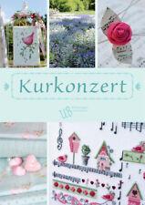 New German cross stitch book. UB Design  Kurkonzert Beautifl spring patterns