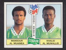 Panini - USA 94 World Cup - # 439 Muainea / Muwallid - Saudi Arabia (Black Back)