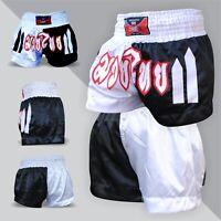 Maxx Muay Thai Fight Shorts MMA Kick Boxing Grappling Martial Arts Gear Men PWG