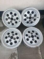 Set Of Four Ford Pepperpot Alloy Wheels - 6x13 - Fiesta XR2 - Capri