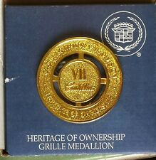 Vintage Cadillac Heritage of Ownership Grille Medallion VII New in Box