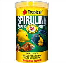 Tropical Spirulina Super Forte 1000ml Flake Food for Algenfresser 15 49 €/ L