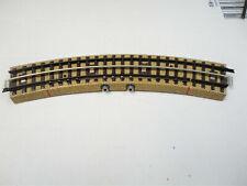 Marklin Ho 3600 BSA  like 5104 1 curved contact  section brass rails  nice!