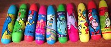 New! 22 Seuss Assorted Mini Erasers Party Green Eggs Cat In the Hat One Fish