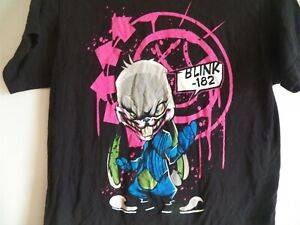 Vintage BLINK 182 Bunny Black size Small concert tour T-Shirt tom delonge