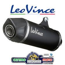 Scarico Terminale Marmitta LeoVince SBK INOX Nero HONDA CRF 1000 L AFRICA TWIN