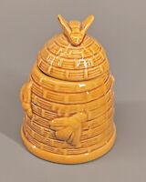 99845035 Keramik Honigtöpfchen Deckeldose Bienekorb H10,5cm