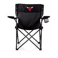 Picnic Time 804-00-179-044-4 Chicago Bulls Digital Print PTZ Camp Chair Black