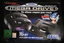 Console MEGA DRIVE MINI complete 42 jeux SEGA