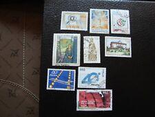 italia - 9 sellos año 1986 sellados (A9) stamp italia