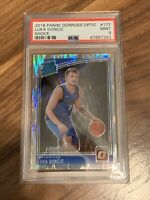 (LIMITED QTY REPACK) Luka Doncic Optic Shock Rookie Card Graded PSA 9! 🔥 (READ)