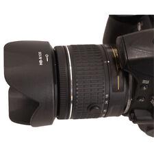 Lens Hood for HB-N106 Nikon D3300 D5300 AF-P 18-55mm f/3.5-5.6G VR UK