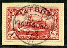 Kiautschou Mi 24 B  Kab.-Briefstück  Litsun