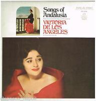 Victoria De Los Angeles: Songs Of Andalusien - LP Emi Angel