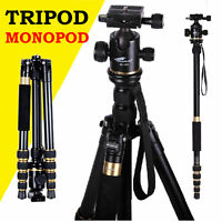 Camera Tripod Monopod & Ball Head Carry Bag For Nikon Canon Sony DSLR SLR Photo