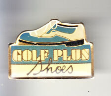 RARE PINS PIN'S .. SPORT CHAUSSURE SHOES SPORTWEAR GOLF PLUS BLUE BLEU ~BO