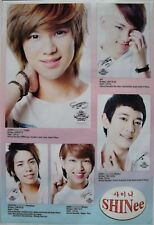 "SHINEE ""5-SHOTS & INFO"" POSTER FROM ASIA-K-pop Boy Band"