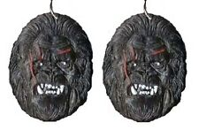 Funky KING KONG SASQUATCH EARRINGS Ape Gorilla Movie Character Costume Jewelry