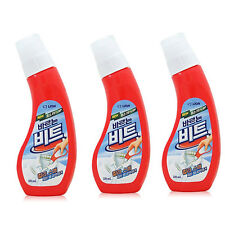 3Pcs Shirt Collar Sleeve Stain Remover Rub Clothes Cleaner Stain Removal