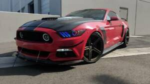 Oracle Lighting 2015-2017 Fits Ford Mustang Headlights ColorSHIFT RGB+A-Black