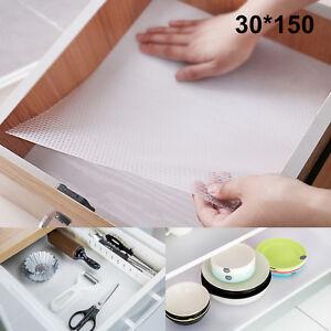 Drawer Liner Non Slip Kitchen Cupboard Cabinet Shelf Protecter Mat 30cm x 150cm
