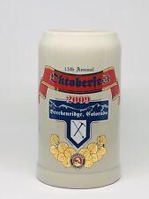 Oktoberfest 2009 1 Liter Rastal Beer Stein Mug Breckenridge Colorado Paulaner