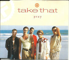 Robbie Williams TAKE THAT Pray w/ EDIT & ACAPPELLA & CLUB MIX CD Single SEALED