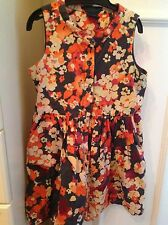 Girls Gap Age 5 (4-5 Years ) Flower Dress In Excellent Condition