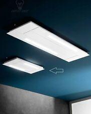 plafoniera lampadario soffitto lampada moderno bianca bagno salotto soggiorno