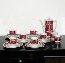 Bavaria Creidlitz Porcelain Tea Coffee Service Porzellan-Tee/Kaffeeservice