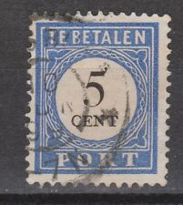P19 Port nr 19 used NVPH Nederland Netherlands Pays Bas due portzegel