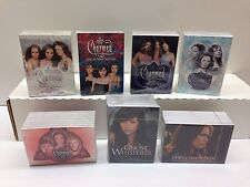 CHARMED TV SERIES & GHOST WHISPERER CARD SETS (7 TOTAL) + 1 EXCLUSIVE PROMO