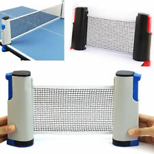 IndoorSpotr Portable Retractable Table Tennis Net Rack Replacement Ping Pong KIT