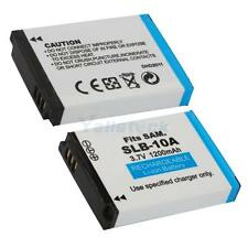 Lot2 SLB-10A Battery For Samsung WB350F WB1100F WB2100 WB250F EX2F WB800F
